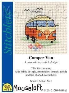 Mouseloft Camper Van Stitchlets cross stitch kit
